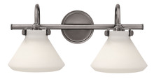 Hinkley 50020AN - Two Light Antique Nickel Vanity