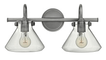 Hinkley 50026AN - Two Light Antique Nickel Vanity