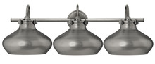 Hinkley 50038AN - Three Light Antique Nickel Vanity