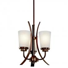 Kichler 42600OI - Three Light Old Iron Up Pendant