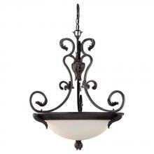Sea Gull 65014-802 - Three Light Bronze Up Pendant