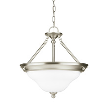 Sea Gull 66062-962 - Three Light Semi-Flush Convertible Pendant