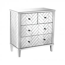Sterling Industries 1114-211 - Chatelet Chest In Clear Mirror Finish