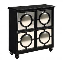 Sterling Industries 6042880 - Mirage Cabinet Black