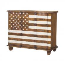 Sterling Industries 7011-288 - Westward Chest In Honey Stain And White