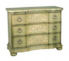 Sterling Industries 88-3178 - Argent Scroll Chest
