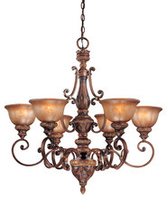 Minka-Lavery 1356-177 - 6 Light Chandelier