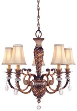 Minka-Lavery 1745-206 - 5 Light Chandelier