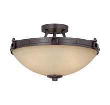 Savoy House 6-2017-3-05 - Elba 3 Light Semi-Flush