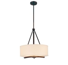 Savoy House 7-4107-3-245 - Three Light Chilmark Finish Drum Shade Pendant