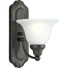 Progress P3313-77 - One Light Forged Bronze Bathroom Sconce