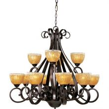 Maxim 13418AIOI - Barcelona-Multi-Tier Chandelier