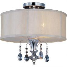 Maxim 24301CLBSPN - Montgomery 3-Light Semi-Flush Mount