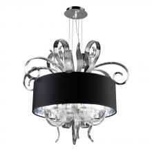 PLC Lighting 34143 PC - PLC 4 Light Chandelier Valeriano Collection 34143 PC