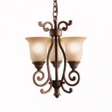 Kichler 2215TZG - Mini Chandelier/Wall 3Lt