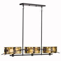 Kichler 65326 - Three Light Satin Black Island Light