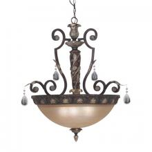 Designers Fountain 9214-SE - Four Light Sierra Up Pendant