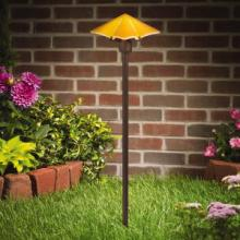 Kichler Landscape 15435AMB - One Light Amber Path Light