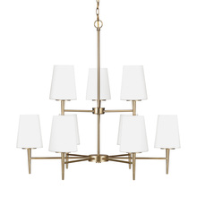 Sea Gull 3140409-848 - Nine Light Chandelier