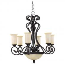 Sea Gull 31414-802 - Windsor Mannor Chandelier