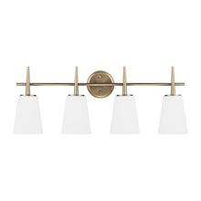 Sea Gull 4440404-848 - Four Light Wall / Bath