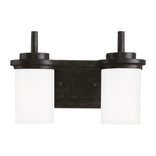 Sea Gull 44661-839 - Two Light Wall / Bath