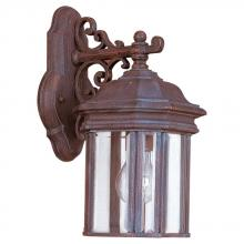 Sea Gull 8835-08 - Single-Light Hill Gate Outdoor Wall Lantern