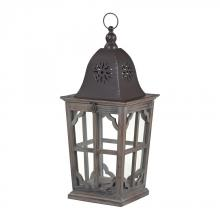 Sterling Industries 137-002 - High Green-Medium Wooden Lantern