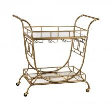 Sterling Industries 3200-038 - Mirrored Server Bar Cart