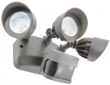 American Lighting AL-3PIR-DB - 3-HEAD, DK BRZ 120V, PIR MOT. SENS. FLOOD, 3000K,cULus WET