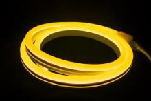 "American Lighting P2-NF-AY - POLAR2 Neon, 150' Reel, 120 Volt, 2.4 W/Ft, 18"" Cuttability, Amber Jacket, White LED,"