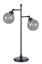 "CAL Lighting BO-2577TB - 28"" Height Metal Table Lamp In Gun Metal"
