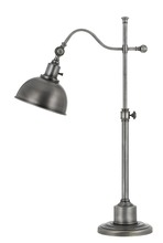 "CAL Lighting BO-2588TB-AS - 31.5"" Height Metal Table Lamp In Antique Pewter Finish"