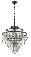 Troy F3807 - BISTRO 6LT CHANDELIER MEDIUM