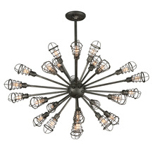 Troy F3816 - CONDUIT 25LT CHANDELIER EXTRA LARGE