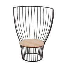 Dimond 985-044 - Teak And Metal Carousel Chair