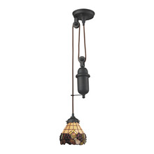 ELK Lighting 081-TB-07 - Mix-N-Match 1 Light Pulldown Pendant In Vintage