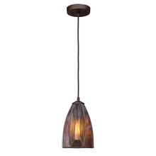ELK Lighting 70046-1 - Dimensions 1 Light Pendant In Burnished Copper A