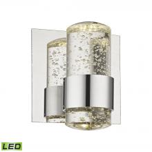 ELK Lighting BVL151-0-15 - Surrey 1 Light LED Vanity In Chrome And Bubbled