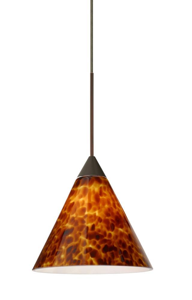 Besa pendant kani bronze amber cloud 1x50w gy6 35