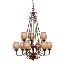 Kichler 1719OZ - Nine Light Chandelier