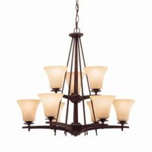 Kichler 1924CST - Nine Light Chandelier