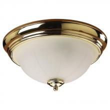 Generation Lighting - Seagull 77050-02 - Brass Bowl Flush Mount