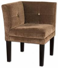 Uttermost 23000 - Nia Suede Corner Chair