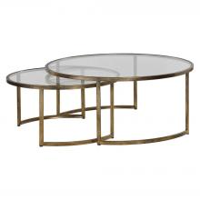 Uttermost 24747 - Uttermost Rhea Nested Coffee Tables S/2