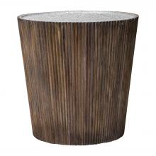 Uttermost 25871 - Uttermost Amra Reeded Round Accent Table